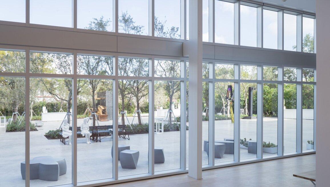 ICA Miami, interior view