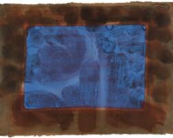 7. howard hodgkin | blue listening ear (heenk 73)