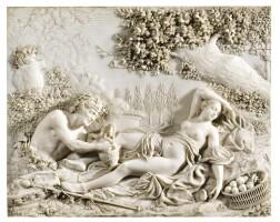 25. henricus baur (1752 - 1823), ruremonde, circa 1811ariane and bacchus,  