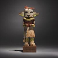 8. a hopi polychromed wood kachina figure |
