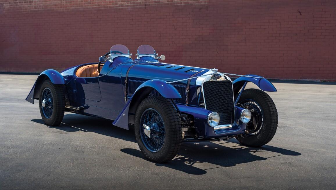 1934 Delage D8 Sports Tourer