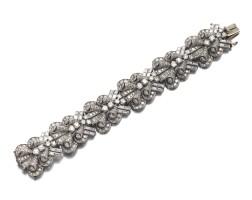 18. diamond bracelet, 1950s