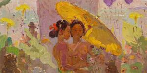 愛上峇里島:比利時印象派畫家勒邁耶與印尼的半生緣