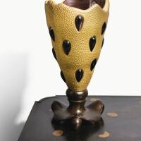 6. andré dubreuil & daum   lacrima vase