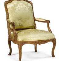 1003. a louis xv beechwood fauteuilà la reine, mid-18th century |