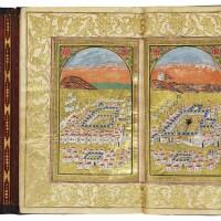 48. a book of prayers, including an illuminated dala'il al-khayrat, copied by 'ali al-shukri,turkey, ottoman, dated 1204 ah/1789-90 ad