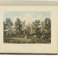 3. ackermann, rudolph. 'the history of the colleges of winchester, eton, and westminster; with the charter-house, the schools of st. paul's, merchant taylors, harrow, and rugby, and the free-school of christ's hospital'. london: r. ackermann, 1816 [watermarked 1812]