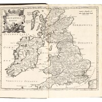 37. camden, britannia, 1722, 2 volumes