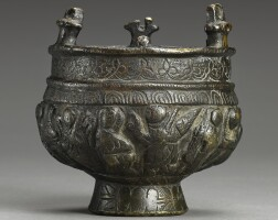 3. byzantine, 6th-8th century | censer with six scenes from the life of christ