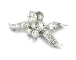 38. diamond brooch