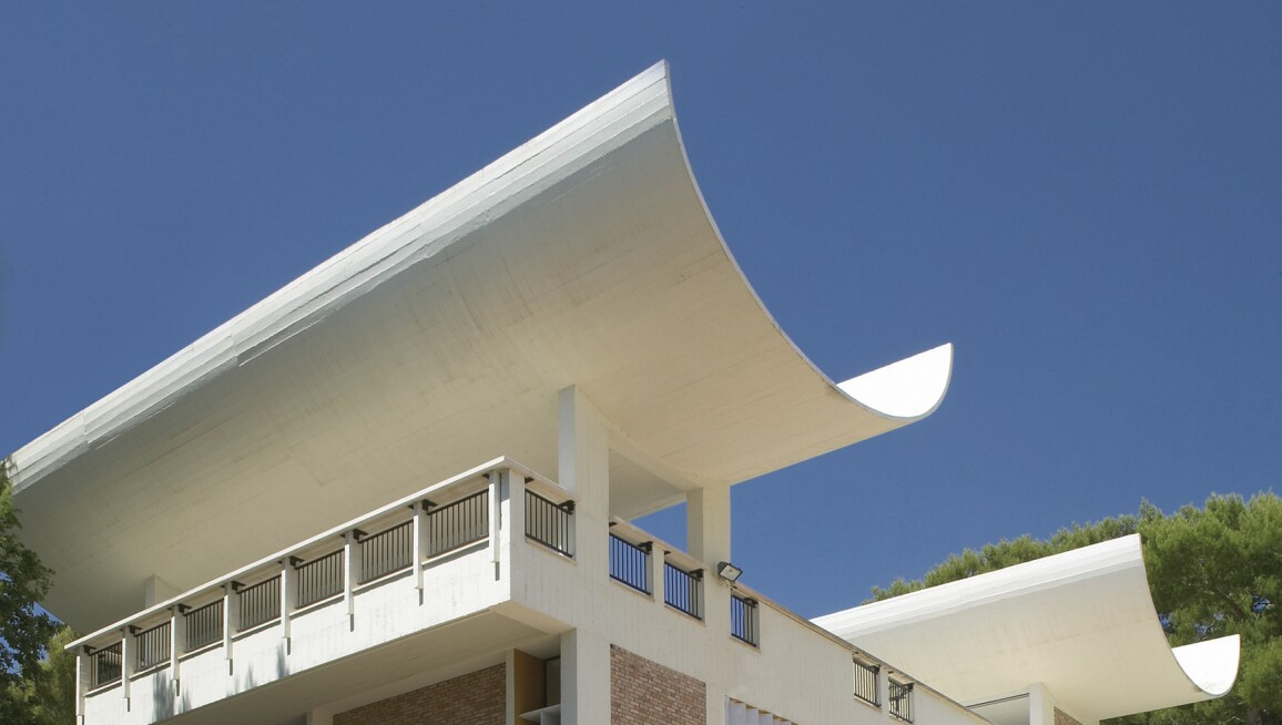The Fondation Maeght, designed by Josep Lluís Sert