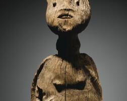 41. statue, bangwa orientaux, royaumes des hauts plateaux, province du sud-ouest , cameroun