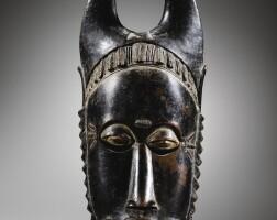 18. masque, yauré, côte d'ivoire |