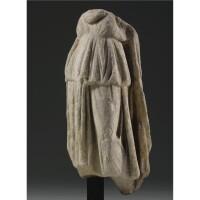 102. a roman marble torso of a goddess, circa 2nd century a.d.