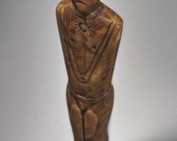 27. eskimo marine ivory male figure