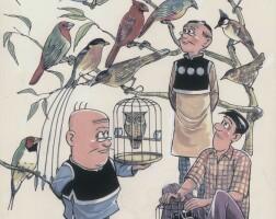 8. bird flock (1982)