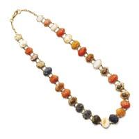 22. cameo necklace, circa 1830