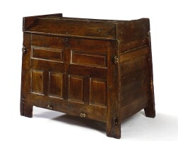 31. an english oak chest 16th century and later