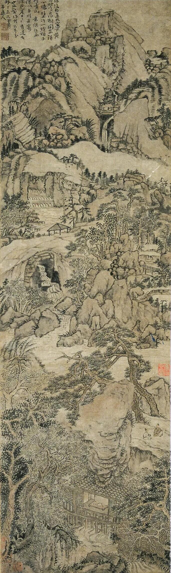 現藏安徽省博物館之石溪〈水閣山亭〉.jpg