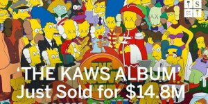 Bidding Battle: #KAWS Smashes Record