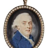 311. augustin ritt | portrait of a gentleman, circa 1790