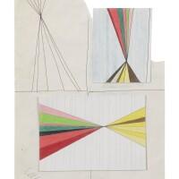 401. mark grotjahn (b. 1968)   untitled, 2001