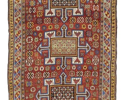 7. a small kurdish quchan carpet, northeast persia
