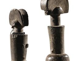 242. deux poupées, mwana, tanzanie  