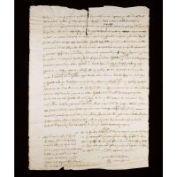 10. collection of charters and documents of english interest, in latin, english and french, on paper and vellum