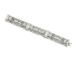 366. diamond bracelet, 1930s