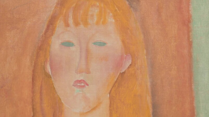 The Serenity of Modigliani's Blue-Eyed Sitter