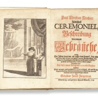 78. judisches ceremoniel… (jewish ceremonies…), paul christian kirchner, nuremberg: peter conrad monath, 1734