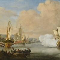 168. Style of Willem Van de Velde the Younger