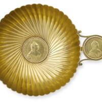 4. a fabergé gold charka, workmaster erik kollin, st petersburg, circa 1885 |