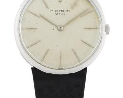 210. 百達翡麗(patek philippe) | 2591型號鉑金腕錶,1964年製。