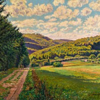 434. gustave cariot | paysage