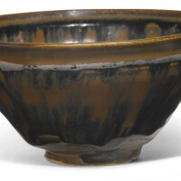 210. a 'yaozhou' 'hare's fur' teabowl song dynasty |