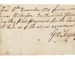 2. george taylor, signer of the declaration from pennsylvania