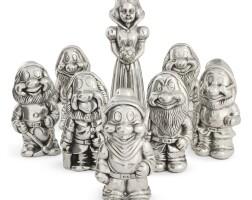 511. clive barker | snow white & the 7 dwarfs [8 sculptures]