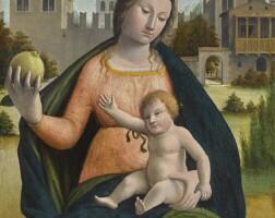 3. 巴托羅米奧·蘇阿爾迪 - 或稱布拉曼蒂諾 | 《聖母與聖嬰》