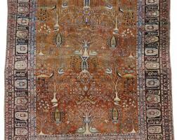 25. a kashan 'mohtasham' carpet