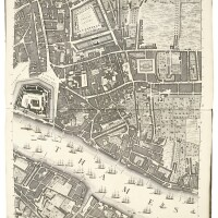 43. rocque, a plan of the cities of london and westminster and borough of southwark, 1746