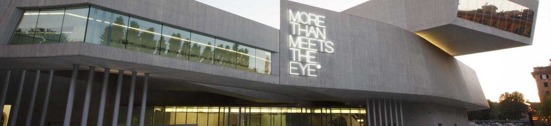 Exterior View, Maxxi-Museo Nazionale delle Arti del XXI Secolo