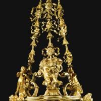 35. an italian gilt-bronze lantern, roman circa 1750-70