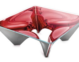 11. sir david adjaye | washington corona™ (red) coffee table