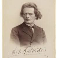 211. rubinstein, anton. fine cabinet photograph