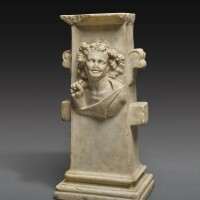 58. a roman marble table support, circa 1st century a.d. | a roman marble table support