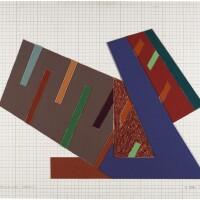 109. frank stella | mogielnica (sketch)