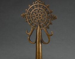 8. ethiopian, 15th century | coptic cross