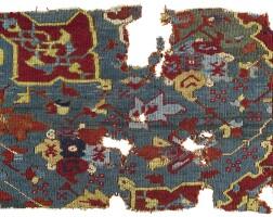9. a 'star' oushak fragment, west anatolia